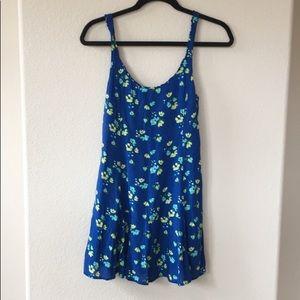 Hollister Floral Babydoll Dress